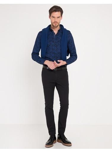 Desenli Slim Fit Gömlek-Pierre Cardin